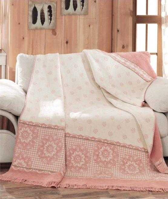 Aksu Cotton Blanket 150x200 boxed - Sweety