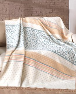 Merinos Cotton Blanket 150x200 boxed - Hiedra