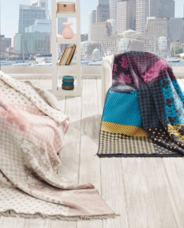 Merinos Cotton Blanket 150x200 boxed - Mila Cream
