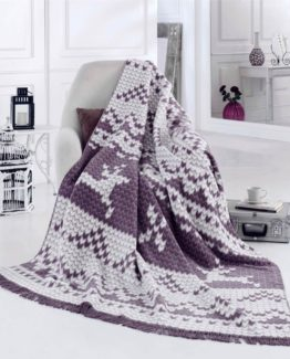 Merinos Cotton Blanket 150x200 boxed - Valentin