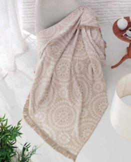Merinos Cotton Blanket 150x200 boxed - Lara