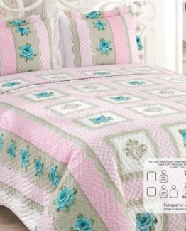 Kupon double Bed Covered - Lilyum