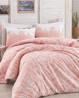 Minteks double  Duvet Cover Set  - Arya Pink