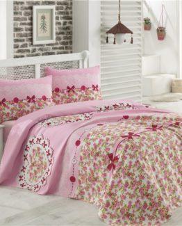 Minteks double  Duvet Cover Set  - Lovely Pink
