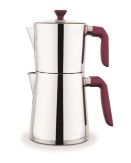 Schafer Zeremonie Filterl Steel Kettles - Bordo
