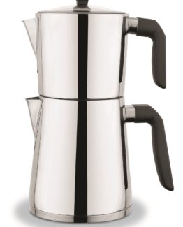 Schafer Zeremonie Filterl Steel Kettles - Black