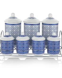 Schafer 15 Pieces Majolika Spice set - XXX02