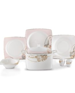 Schafer Karo 60 Pieces Fine Bone Dinner set - BYZ01