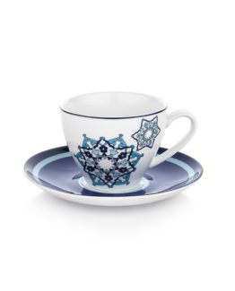 Schafer 12 Pieces Majolika Coffee Cup set - 4251
