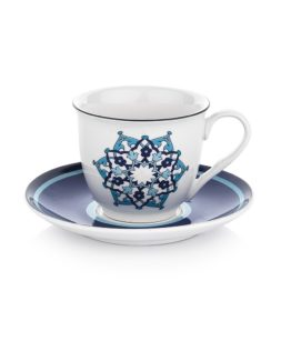 Schafer 12 Pieces Majolika Tea Cup set - 7331