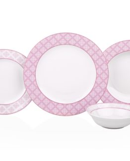 Aksu 24 Pieces Brenda Dinner set - Abelia