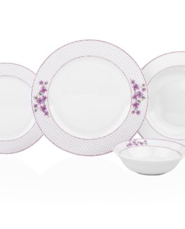 Aksu 24 Pieces Brenda Dinner set - Melia