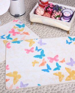 Minteks Elegans 3`lü Closet Set  Butterfly