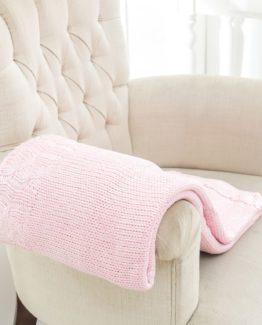 TV Blanket Pink 120x170 cm