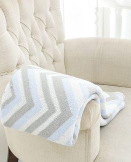 TV Blanket  blue 120x170 cm