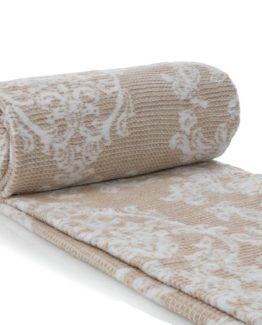 Blanket Beige 200x220 cmDouble