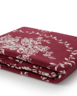 Blanket  claret red 200x220 cm Double